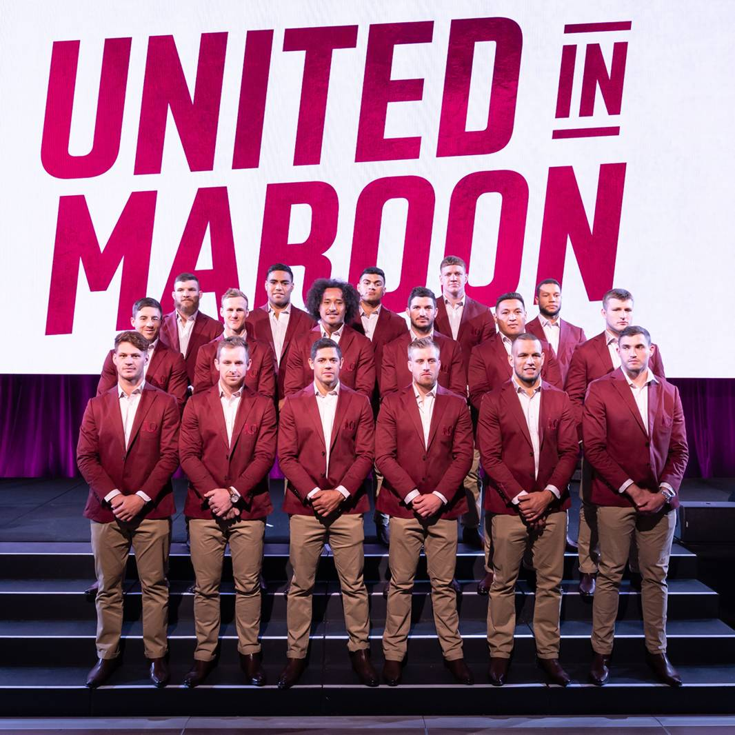 QLD Maroons Long Lunch1