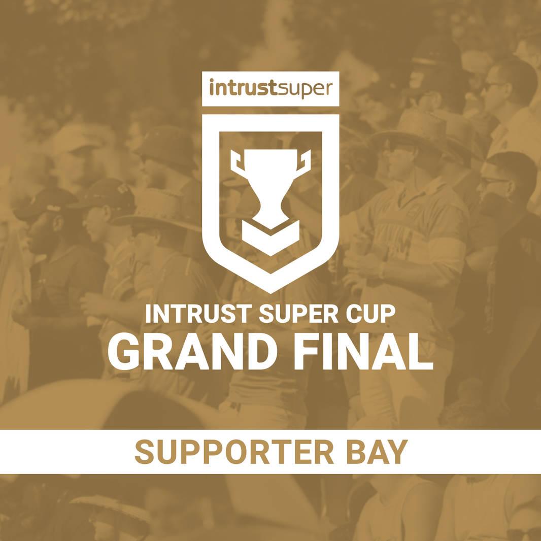 Intrust Super Cup Grand Final - Supporter Bay0