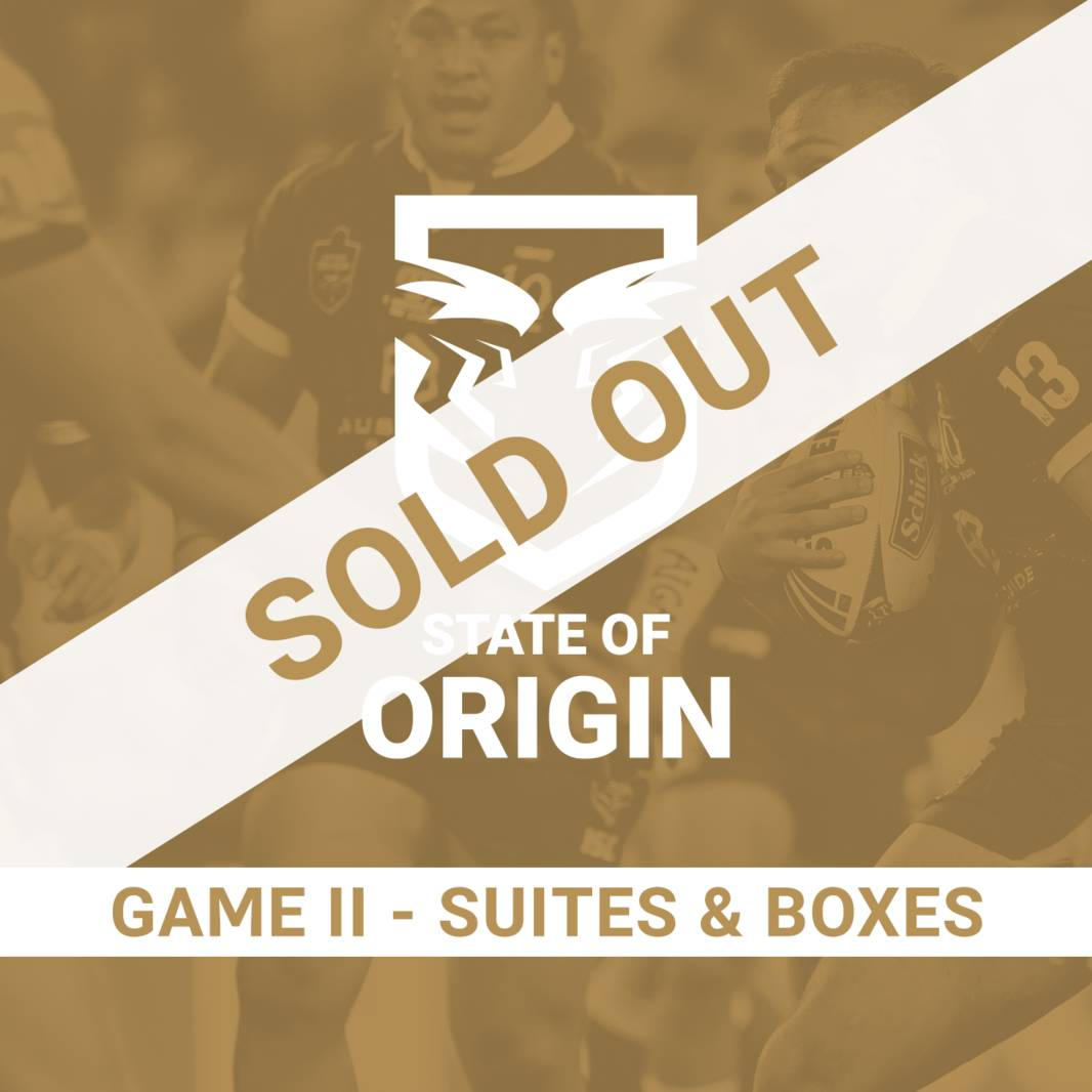 State of Origin Game II - Suites & Boxes0