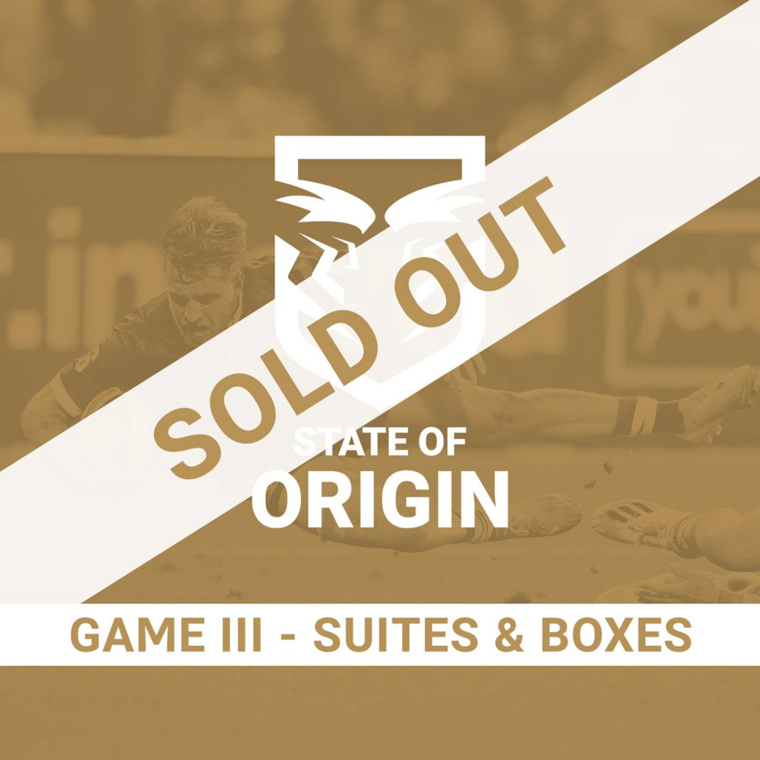 State of Origin Game III - Suites & Boxes0