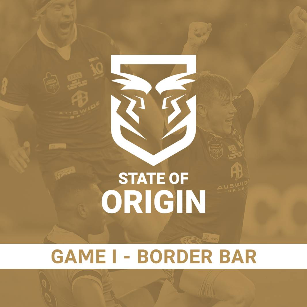 State of Origin Game I - Border Bar0