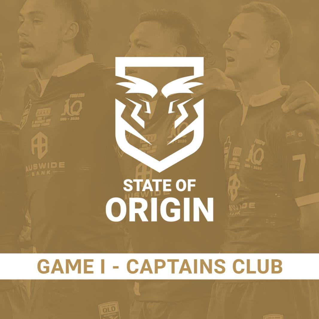 State of Origin Game I - Captain's Club0