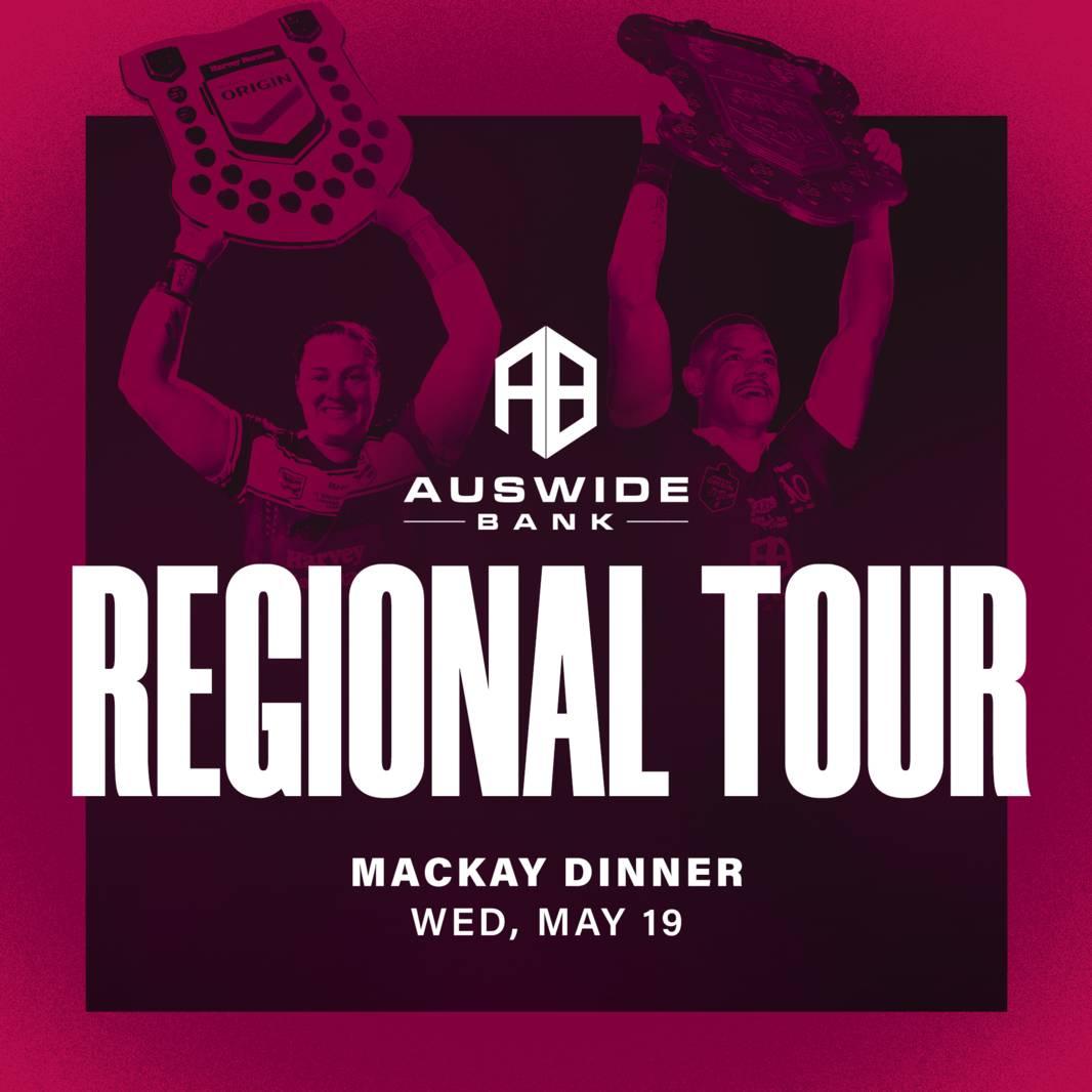 Auswide Bank Regional Tour - Mackay Dinner0