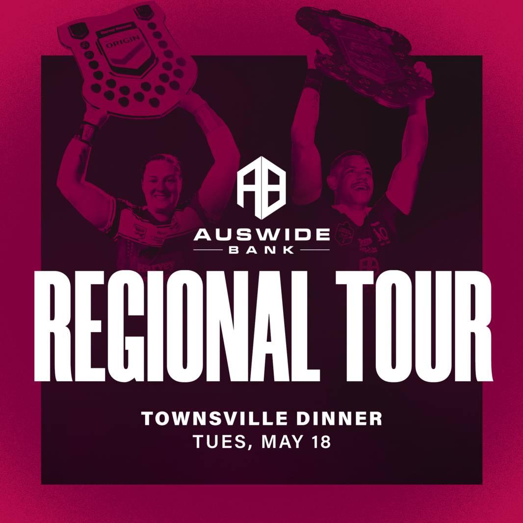 Auswide Bank Regional Tour - Townsville Dinner0