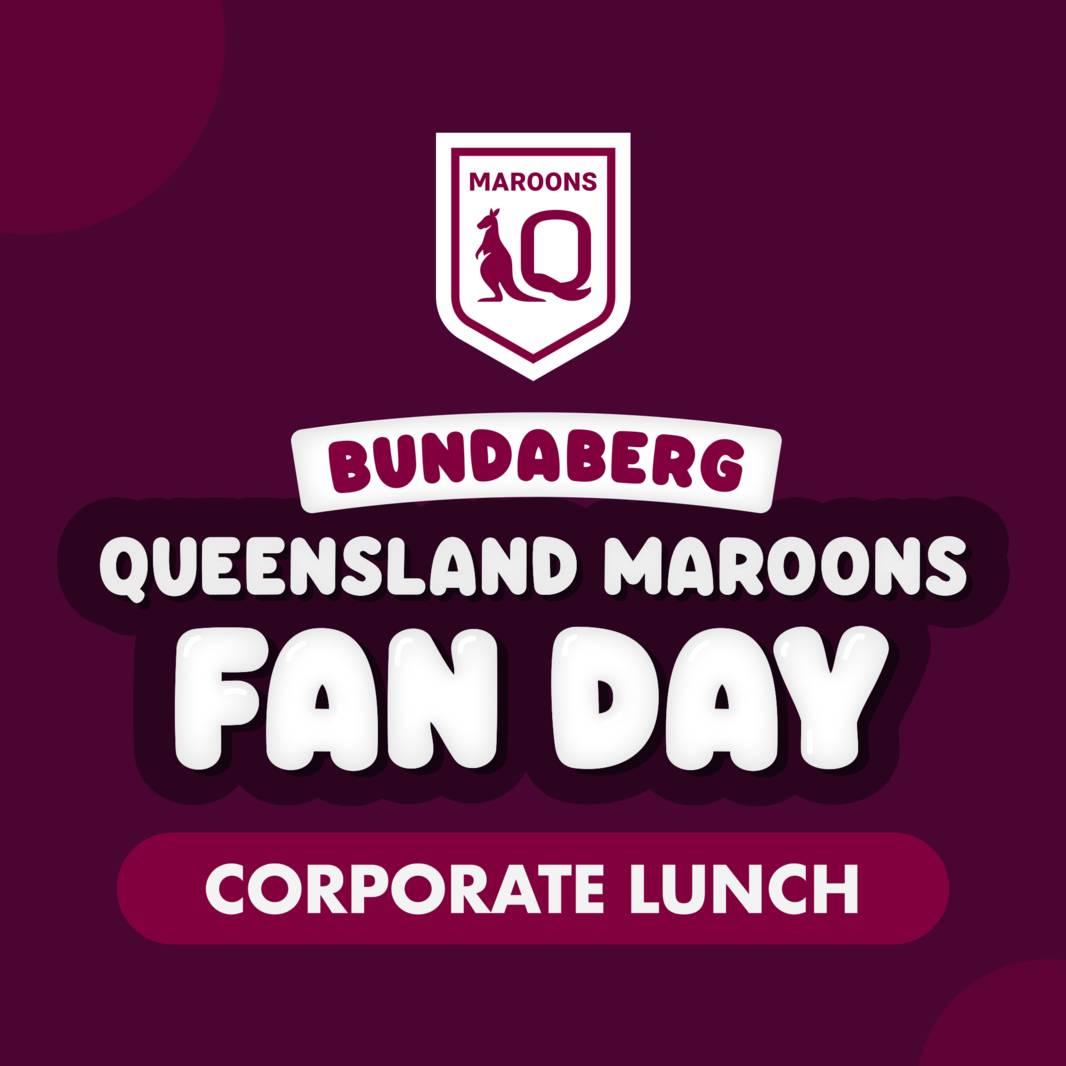 QLD Maroons Regional Fan Day Lunch0